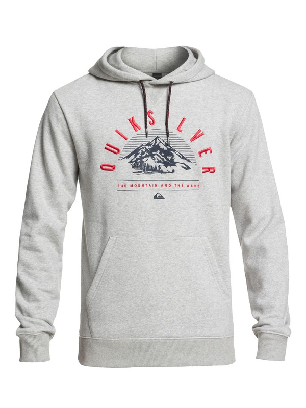 0 Big Logo Technical Hoodie with DryFlight® Black EQYFT03789 Quiksilver