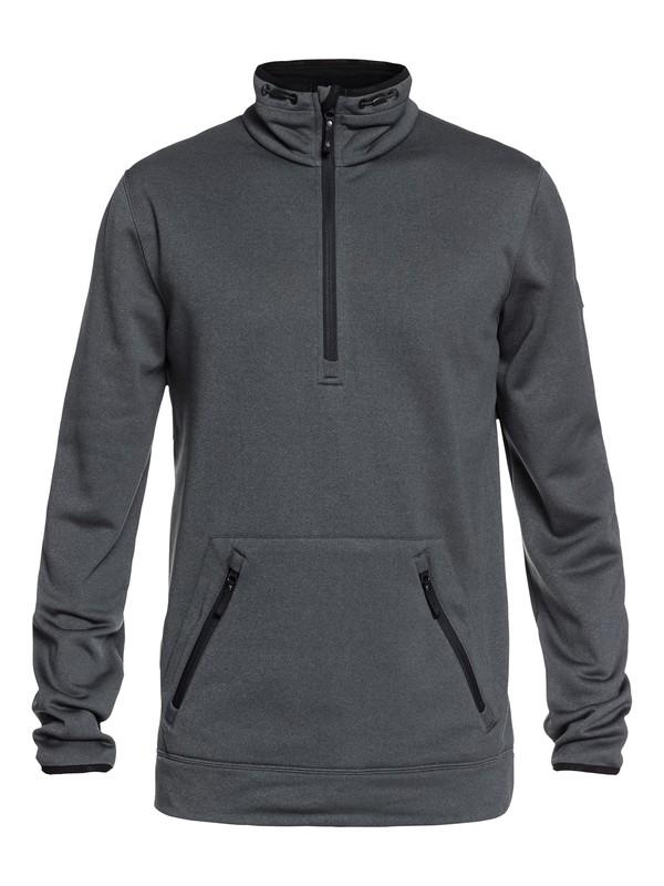 0 Highline - Polartec® Half-Zip Fleece for Men Black EQYFT03810 Quiksilver