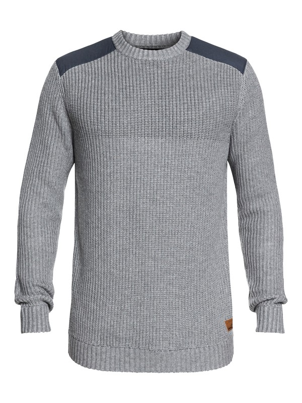 0 Willow - Technical Sweatshirt for Men Black EQYFT03819 Quiksilver
