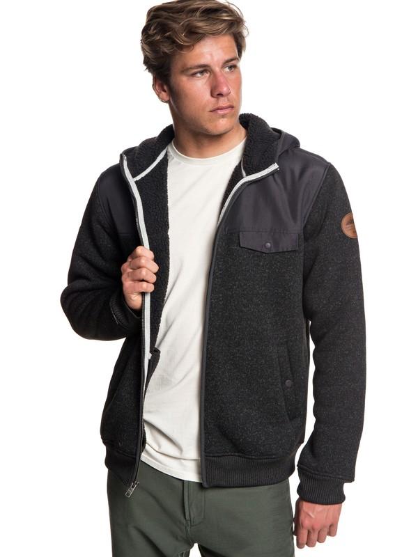 Keller - Zip-Up Polar Fleece Hoodie for Men  EQYFT03834