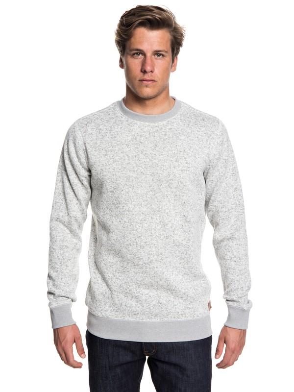 0 Keller Polar Fleece Sweatshirt Grey EQYFT03837 Quiksilver