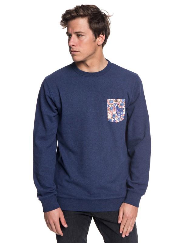 0 Takao Man - Sweatshirt for Men Blue EQYFT03843 Quiksilver