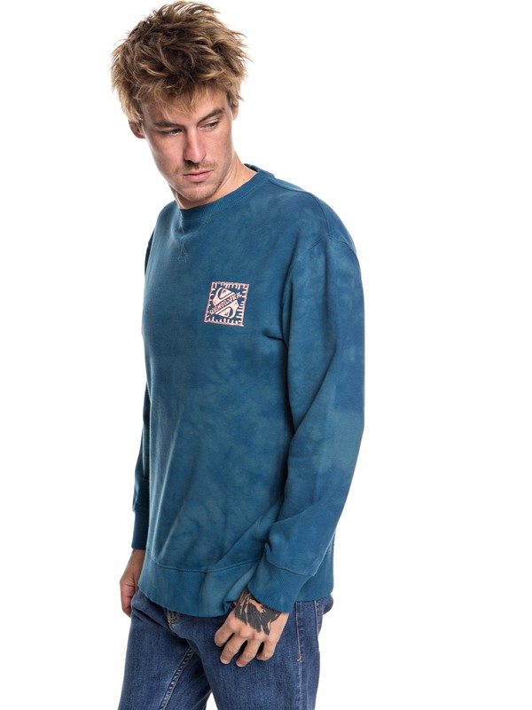 0 Volcanic Ocean - Sweatshirt for Men  EQYFT03845 Quiksilver
