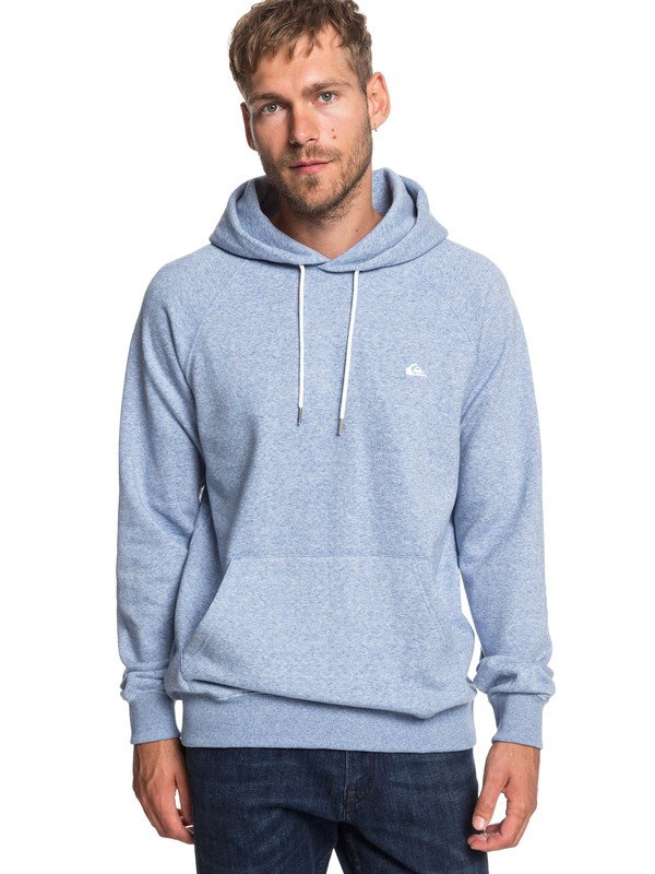 0 Everyday - Sweat à capuche pour Homme Bleu EQYFT03846 Quiksilver