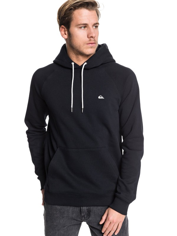 0 Everyday Hoodie Black EQYFT03846 Quiksilver