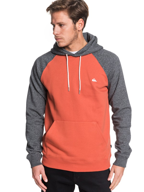 0 Everyday Hoodie Pink EQYFT03846 Quiksilver