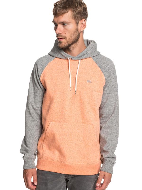 0 Everyday - Hoodie Orange EQYFT03846 Quiksilver
