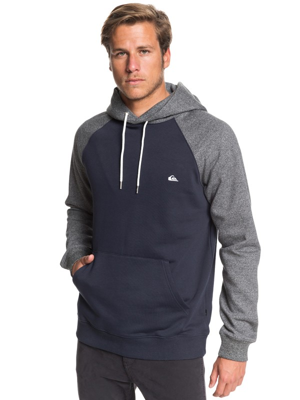 0 Everyday Hoodie Blue EQYFT03846 Quiksilver