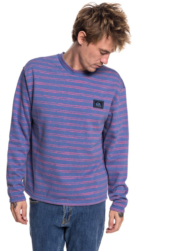 0 Early Faze - Sweatshirt for Men Blue EQYFT03854 Quiksilver