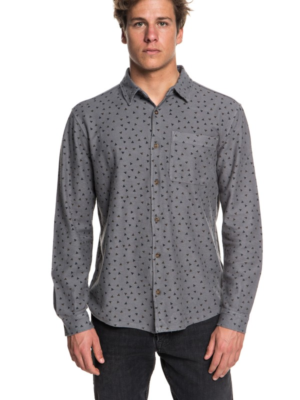 0 Baao - Long Sleeve Shirt for Men Black EQYFT03864 Quiksilver