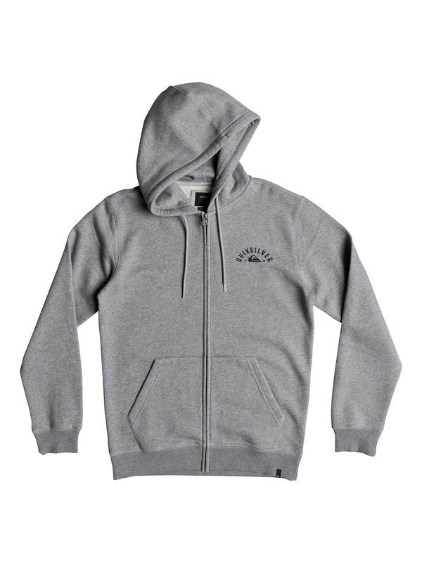 0 Lock Up Zip Hoodie Black EQYFT03901 Quiksilver