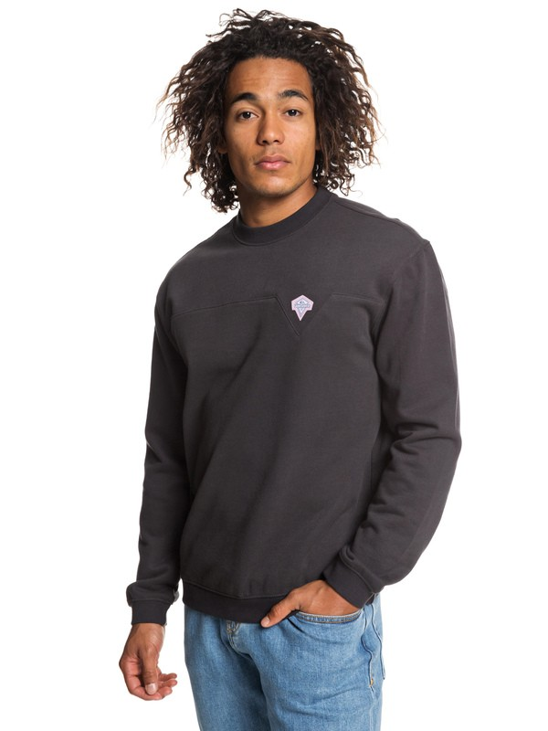 0 Originals Sweatshirt Black EQYFT03918 Quiksilver