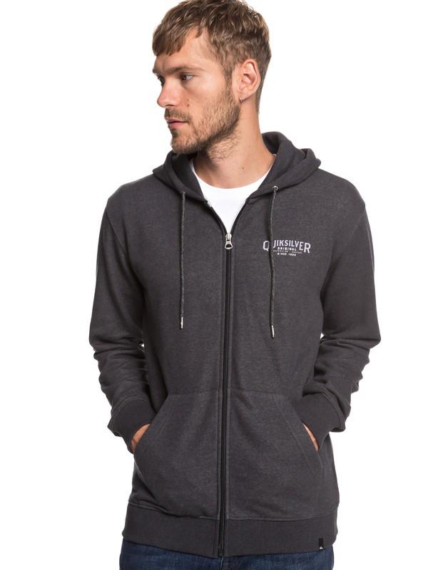 0 X Comp Elite - Zip-Up Hoodie for Men Black EQYFT03925 Quiksilver