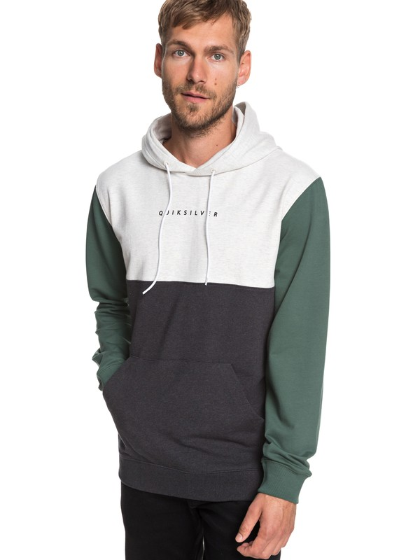 0 Under Shelter - Hoodie for Men Green EQYFT03926 Quiksilver