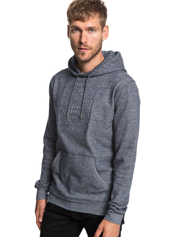 0 Global Grasp - Hoodie for Men Blue EQYFT03929 Quiksilver