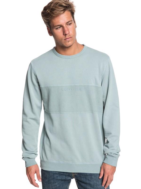 0 Voodoo Red Zone - Sweatshirt for Men Blue EQYFT03931 Quiksilver
