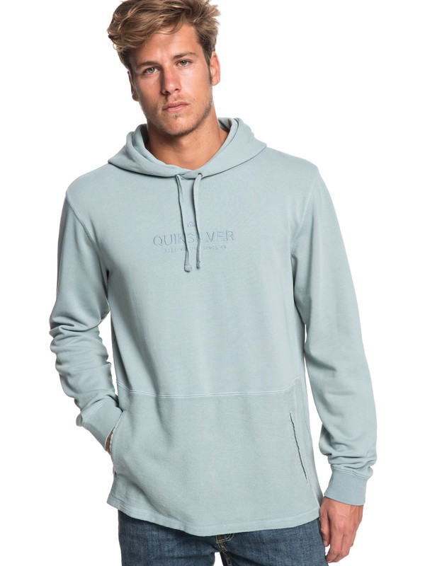 0 Voodoo Red Zone - Hoodie for Men Blue EQYFT03932 Quiksilver