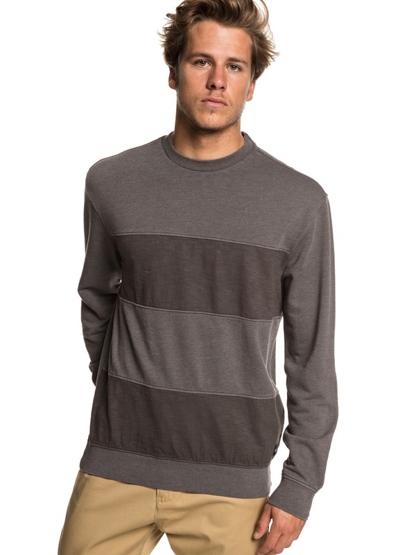 0 Bankstown Blues - Sweatshirt for Men Black EQYFT03937 Quiksilver