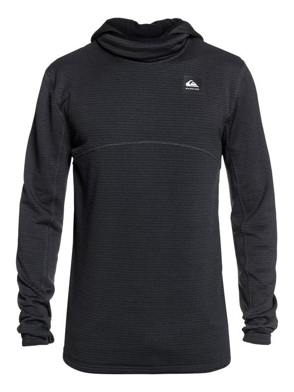 0 Travis Rice Log Polartec® Hooded Fleece Black EQYFT03951 Quiksilver