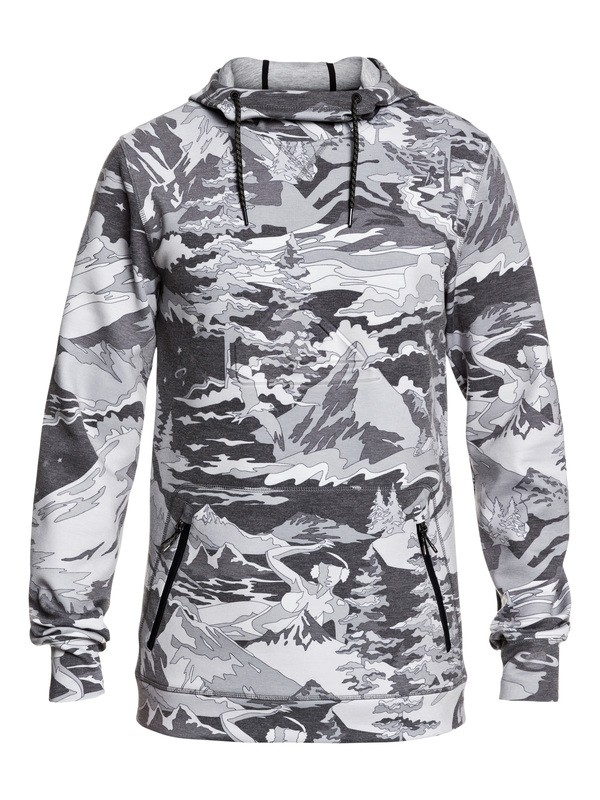 0 Freedom Technical Hoodie Black EQYFT03952 Quiksilver