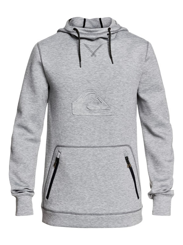 0 Freedom Technical Hoodie Grey EQYFT03952 Quiksilver