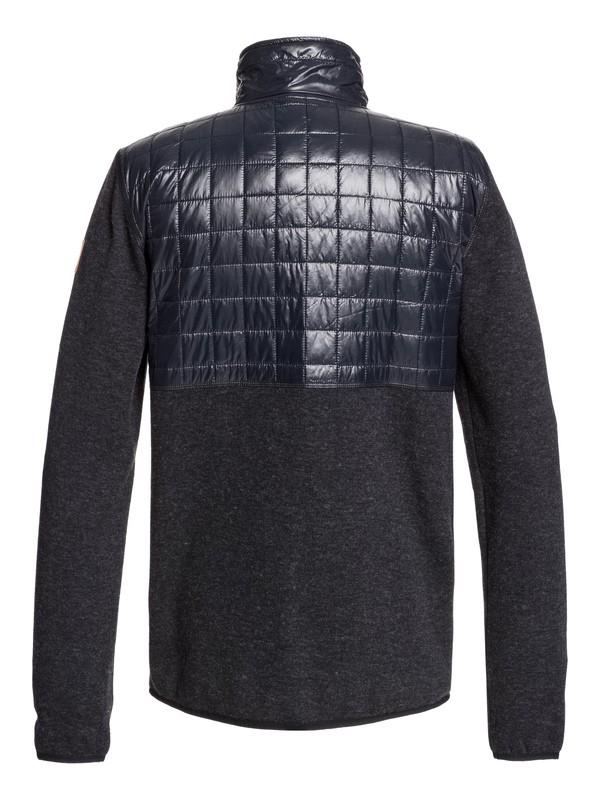 Into The Wild - Technical Zip-Up Mock Neck Fleece for Men  EQYFT03962