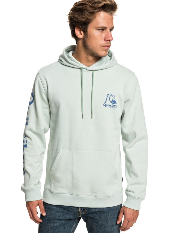 0 Spring Roll Hoodie Blue EQYFT03972 Quiksilver