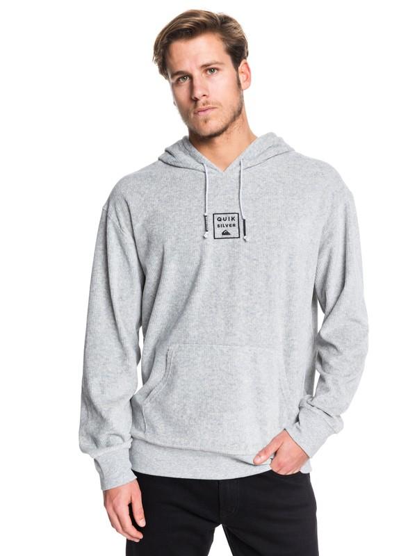0 Corduroy Hoodie Grey EQYFT04002 Quiksilver