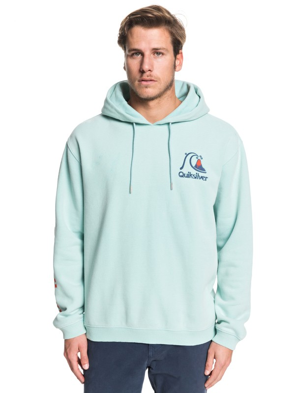 0 Sweet As Slab Hoodie Blue EQYFT04003 Quiksilver