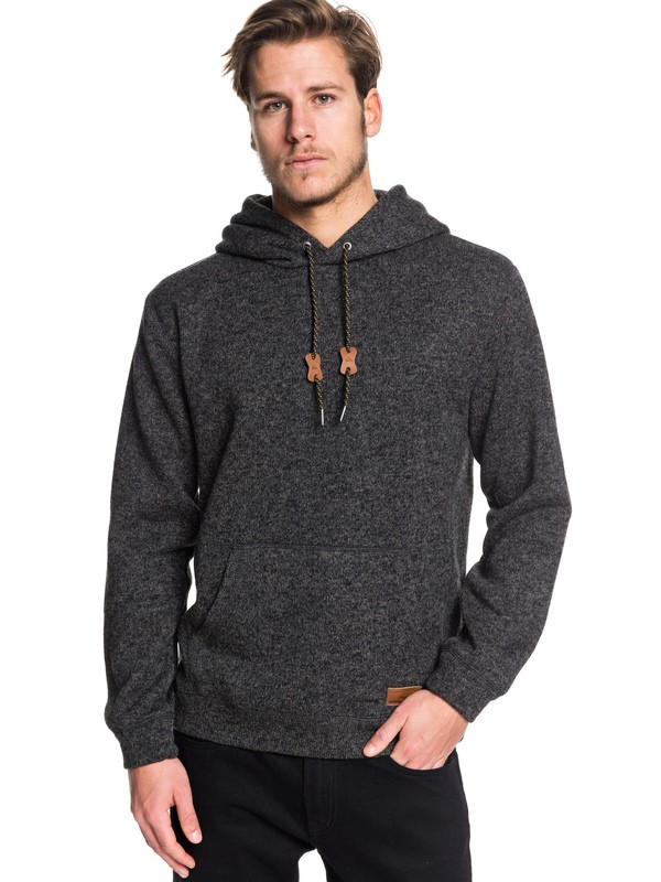 0 Keller Hooded Sweater Black EQYFT04009 Quiksilver