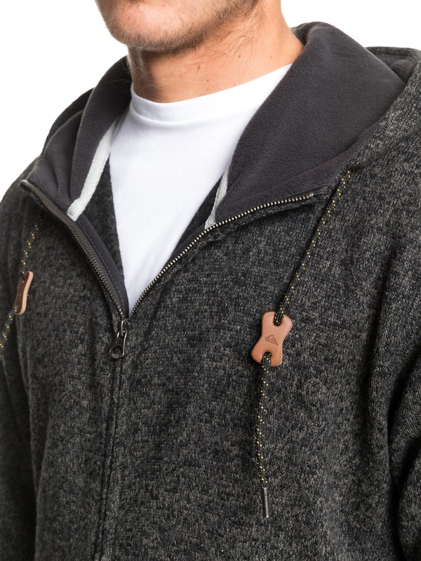 Keller Zip - Hooded Zip-Up Fleece for Men  EQYFT04010