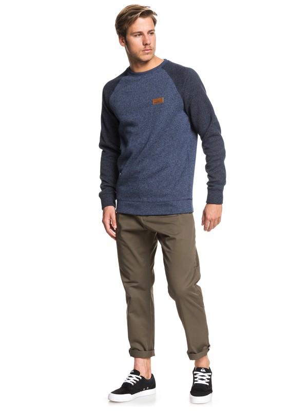 Keller Block - Fleece Lined Sweatshirt for Men  EQYFT04014