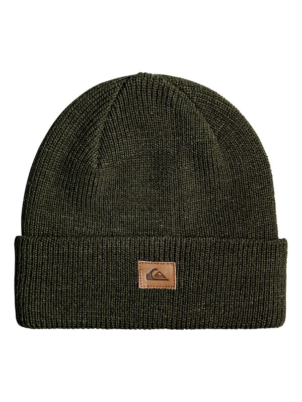 0 Performed Cuff Beanie Brown EQYHA03089 Quiksilver