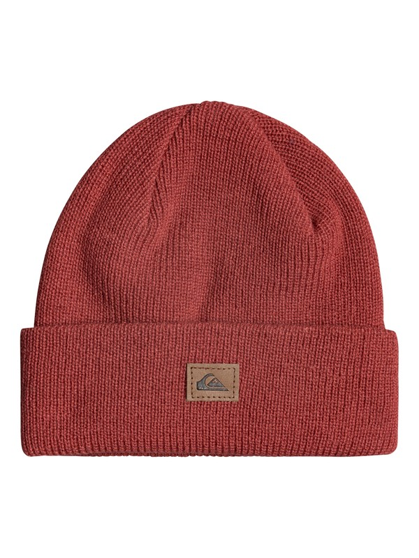 0 Performed Cuff Beanie Red EQYHA03089 Quiksilver