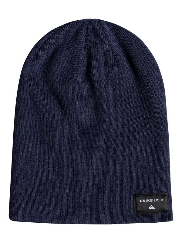 0 Cushy Slouch - Bonnet pour Homme Bleu EQYHA03100 Quiksilver