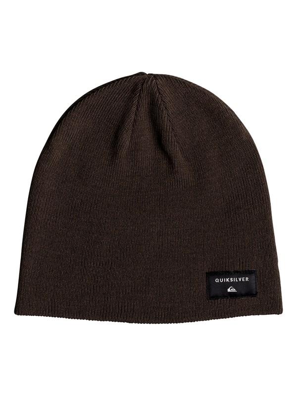 0 Cushy - Bonnet pour Homme Marron EQYHA03101 Quiksilver