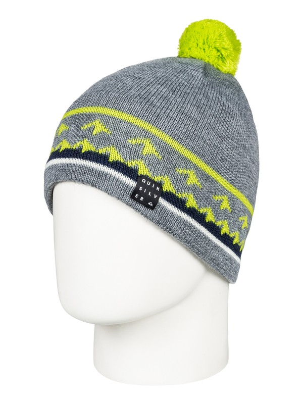 0 Barrow - Beanie for Men Black EQYHA03153 Quiksilver