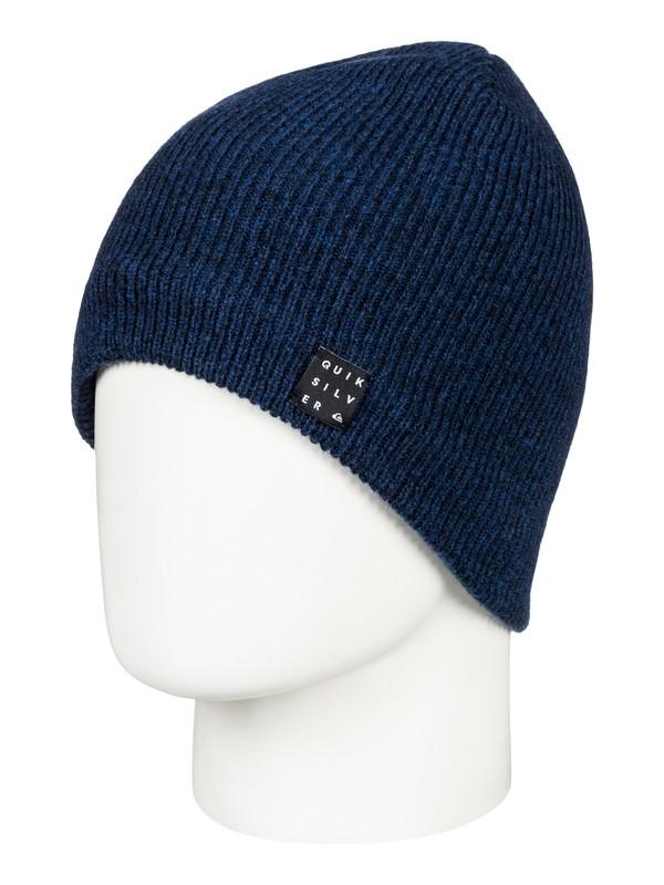 0 Snowly - Bonnet pour Homme Bleu EQYHA03157 Quiksilver