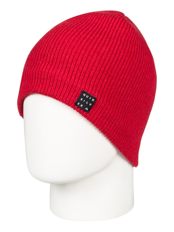 0 Snowly - Beanie for Men Red EQYHA03157 Quiksilver