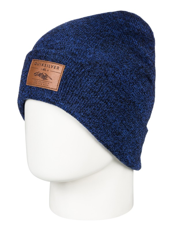 0 Brigade - Beanie for Men Blue EQYHA03160 Quiksilver