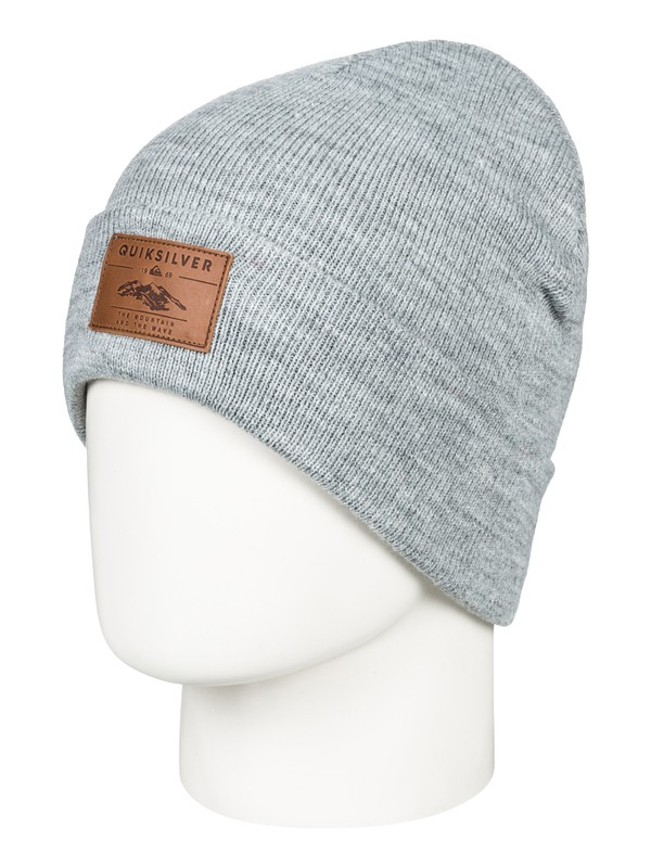 0 Brigade - Beanie for Men Black EQYHA03160 Quiksilver