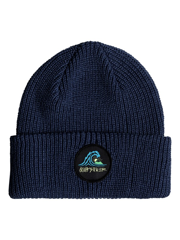0 Performed Patch - Beanie for Men Blue EQYHA03170 Quiksilver