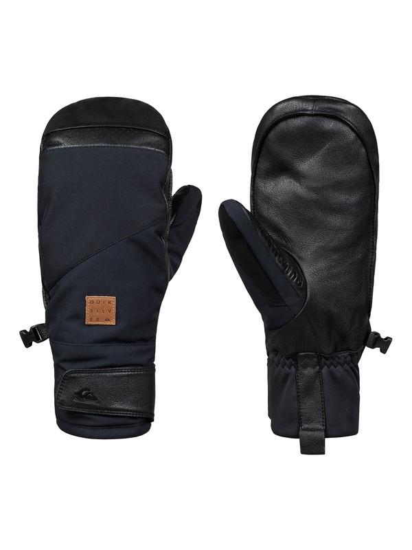 0 Squad - Ski/Snowboard Mittens for Men Black EQYHN03106 Quiksilver