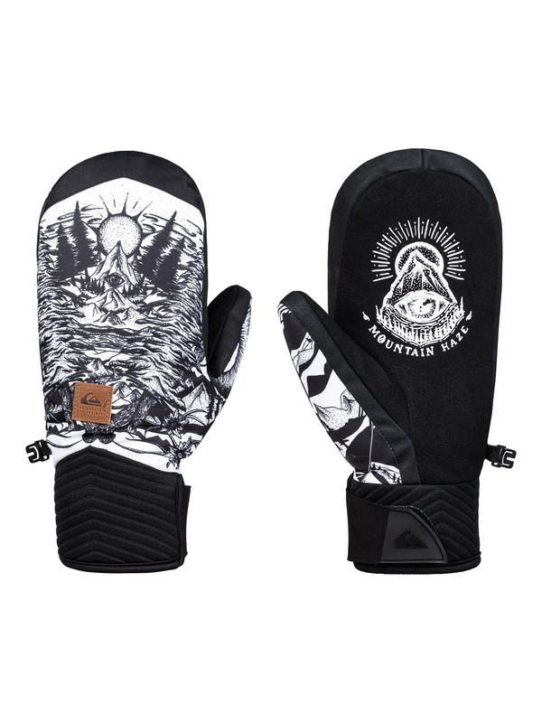 0 Method - Ski/Snowboard Gloves for Men White EQYHN03109 Quiksilver