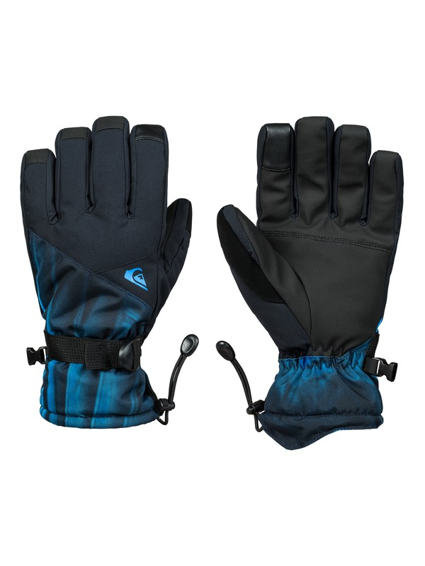 0 Mission Snowboard/Ski Gloves Blue EQYHN03111 Quiksilver
