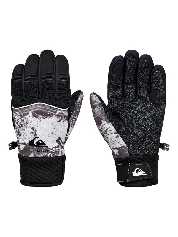 0 Method Snowboard/Ski Gloves Black EQYHN03122 Quiksilver