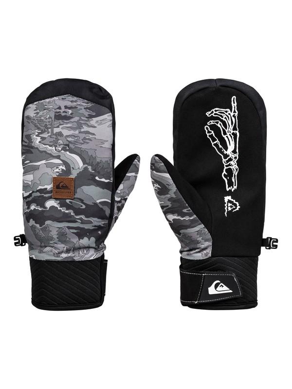 0 Method Snowboard/Ski Mittens Black EQYHN03123 Quiksilver