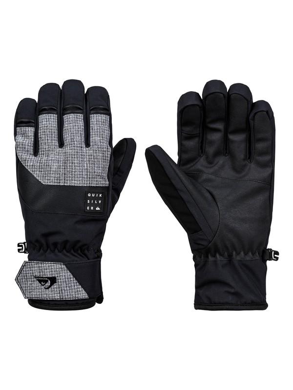 0 Gates Glove Snowboard/Ski Gloves Black EQYHN03124 Quiksilver