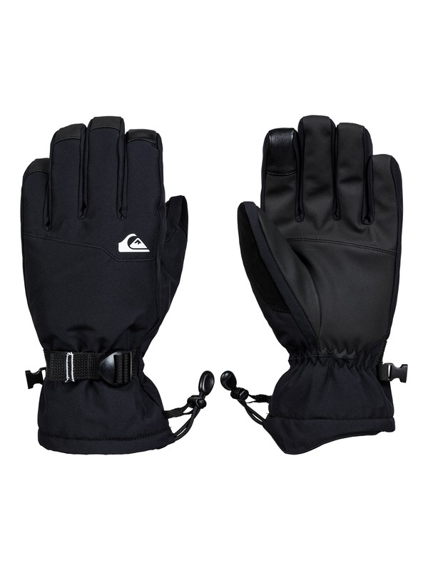0 Mission Snowboard/Ski Gloves Black EQYHN03125 Quiksilver