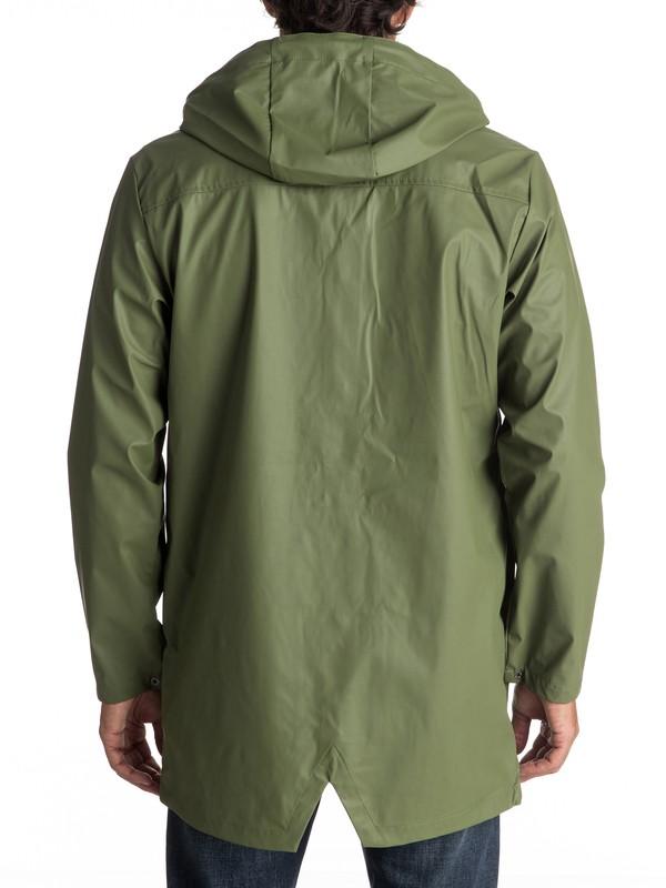 Travers Deep - Long Rain Jacket EQYJK03309